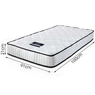 Luxury Single Size Pocket Spring High Density Foam Mattress