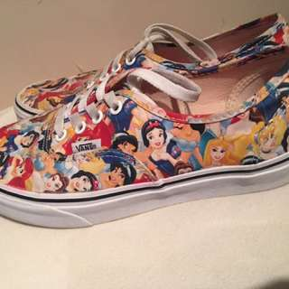 Disney princess vans