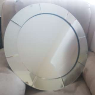 Price reduced! Round Mirror