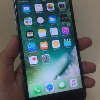 Iphone 6s plus 16gb, space gray fullset