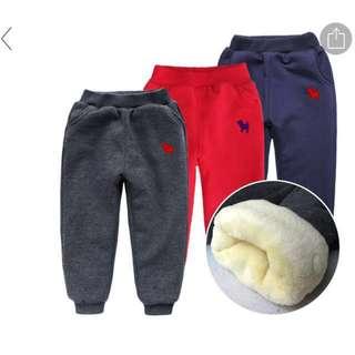 Winter padded cotton pants
