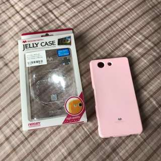 case soft pink z3 compact