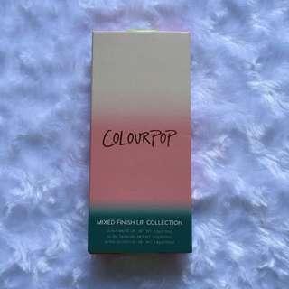Colourpop mixed finish lip collection