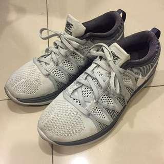 Nike Lunarlon 灰白 慢跑鞋 球鞋 布鞋