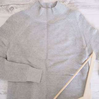 French connection grey knit jumper