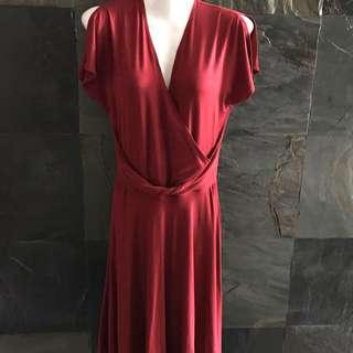 Preloved Celia Loe Additions red dress