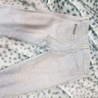 Bettina liano 27 Light denim jeans