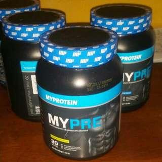 Myprotein Pre Workout Supplement