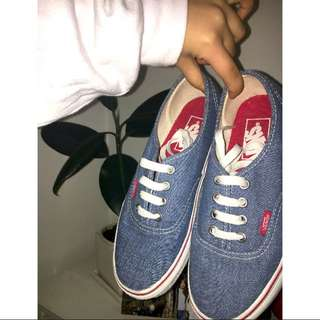 VANS WORN ONCE SIZE 6
