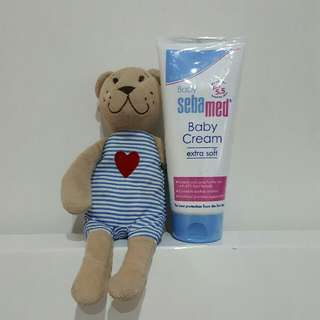 SEBAMED Baby Cream Extra Soft 200ml - ORI - NEW SEGEL