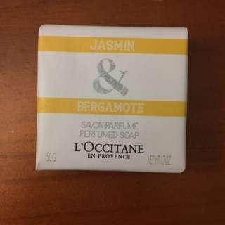 L'Occitane Jasmin & Bergamote Soap 50g