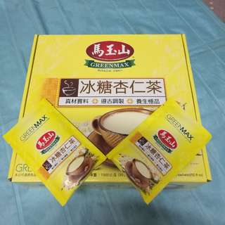養生雙寶 冰糖杏仁茶+黑芝麻糊