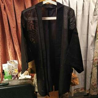 日本和服/黑網