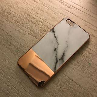 Marble Rose Gold Iphone 6/6s Case