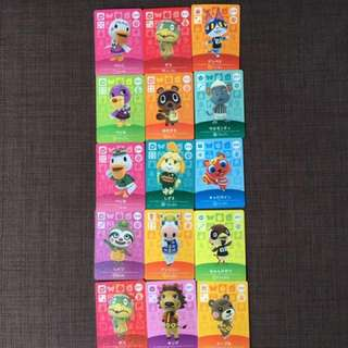 Animal Crossing Amiibo Cards Series 1-4! Caravan Cards ALL GONE! Get rest while you can. New Card 135