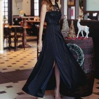 TTT Swirls and Twirls Maxi Dress