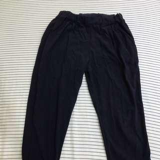 深藍色 老爺褲