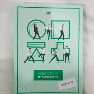 BTS 3rd muster DVD only
