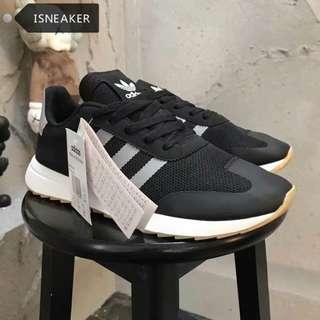 adidas originals flashback breathable  三葉草 復古 慢跑鞋 情侶鞋 休閒鞋