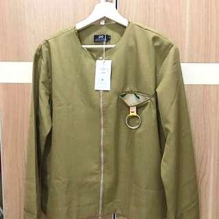 Label 8 Khaki Ring Jacket