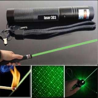 Powerful 303 green laser pointer