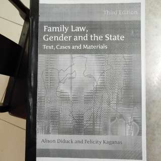 Family Law Textbook.