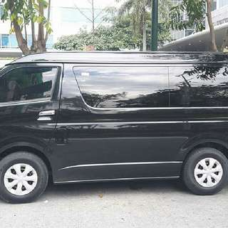 GL GRANDIA VAN FOR RENT