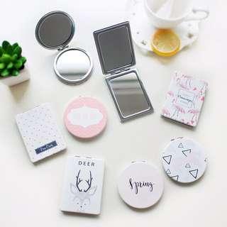 Dainty Pretty Pocket Mirrors