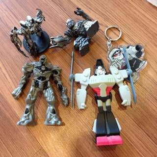 Transformers Small Megatron Figures