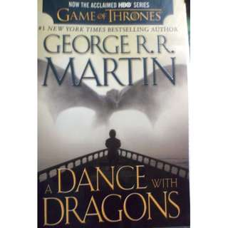 A Song of Ice and Fire: A Dance with Dragons, Book Five (George R.R. Martin)