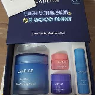 Laneige Water Sleeping Mask special set