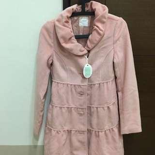 nuee 粉色全新外套