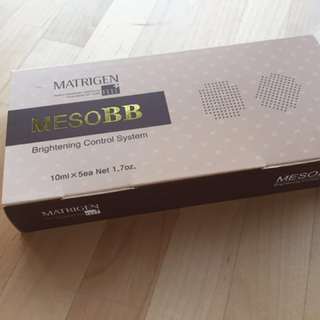 Meso BB 韓國亮麗透肌駐顔素