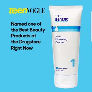 Benzac Acne Eliminating Cleanser