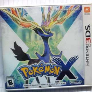 Nintendo 3DS Pokemon X (US Version)