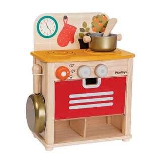 PLAN TOYS 活動積木系列 PLANWOOD廚房