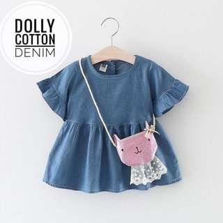 DRESS DOLLY COTTON DENIM