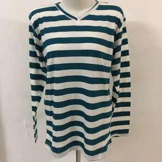 Kaos Stripe Tosca Putih