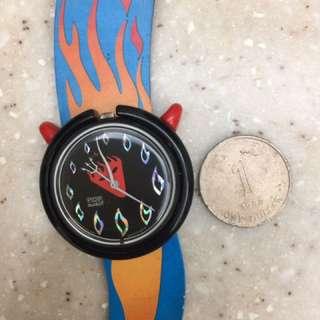 Swatch pop 原裝皮帶 made in France 1994年出廠