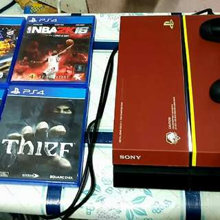 PS4 consoles with 4 free games