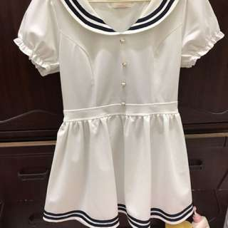 MUSSA 水手服洋裝