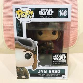 Starwars Rogue One - Jyn Erso funko pop (smuggler bounty exclusive)