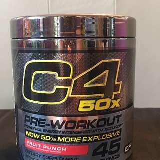 Pre workout C4 50X