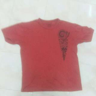 Red Colour T Shirt