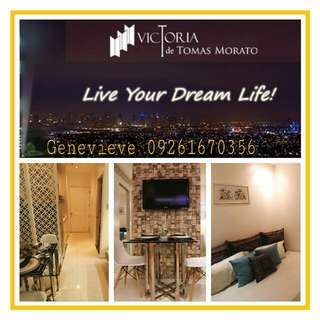 Affordable Condo in Tomas Morato, Timog QC near ABS-CBN & GMA7 Networks