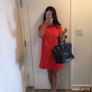 Red dress (Zara)