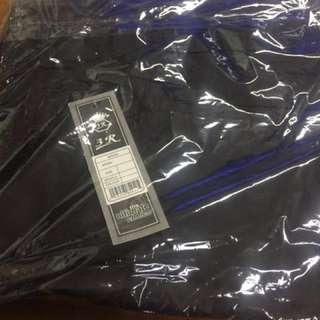 Celana anti begah warna hitam big size
