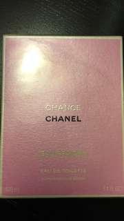 全新未開封Chanel Chance 香水 綠色 100ml