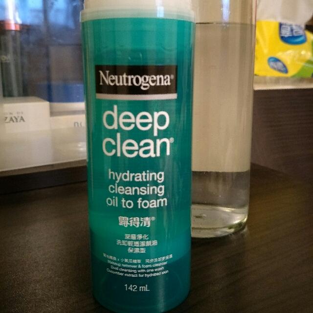 露得清深層淨化洗卸輕透潔顏油  保濕型