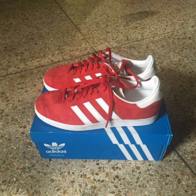 Addidas Gazelle Red Sneakers
